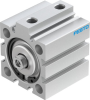 Short-stroke cylinder -- ADVC-40-15-I-P-A -Image