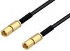 SSMC Plug to SSMC Plug Cable 48 Inch Length Using PE-SR405FLJ Coax -- PE3C4441-48 -Image