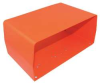 FootSw Guard,Steel,Orange,11x4.92x6.5 -- 6GPA3