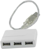 4 Port USB2.0 Hub Bus Powered (w/o Power Supply) -- BLU-CX