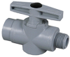 Plastic Two Way Ball Valve -- 628 Series -- View Larger Image