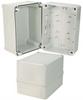 7x5x5 Inch Miniature Industrial Enclosure with Corner Screws -- NBV755 -Image