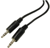 1' 3.5mm Stereo Plug to 3.5mm Stereo Plug Patch Cable -- 201401