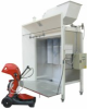 Manual Modular Booth For Electrostatic Powder Coating -- ManuCompact