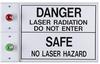 Entry-Guard? Illuminated Dual Status Sign Waterproof -- ETG-DLS-WP