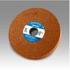 3M Scotch-Brite CM-WL Convolute Aluminum Oxide Hard Deburring Wheel - Coarse Grade - Arbor Attachment - 12 in Diameter - 5 in Center Hole - Thickness 2 in - 19621 -- 048011-19621 - Image