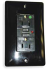 GFCI Receptacle,15A,Hospital,LED,Black -- 2KWK7