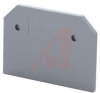 End Plate; Feed-Through; DIN Rail; 65 mm L x 51.5 mm H; 6 mm; 600 V -- 70077241