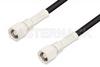 SMC Plug to SMC Plug Cable 36 Inch Length Using RG174 Coax, RoHS -- PE3883LF-36 -Image