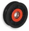 V-Belt Idler Pulley,5/8 In Flat Belt -- 2ZRT1 - Image