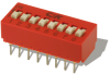Standard Profile DIP Switches -- BD Series