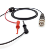 Male BNC Coaxial Test Cable RG174/U to XM Micro-Hooks -- 4020XM -Image