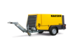 Towable Diesel Air Compressor -- M114