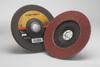 3M Cubitron II 967A Type 27 Coated Ceramic Aluminum Oxide Flap Disc - 60 Grit - 7 in Diameter - 55612 -- 051141-55612 - Image