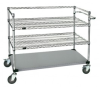 Wire Shelving - Carts - Healthcare & Medical - WRSC3-42-2436FS