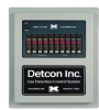 Detcon Gas Detection Control System, NEMA 4X, 10 Channel -- 1010-N4X
