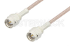 Reverse Thread SMA Male to Reverse Thread SMA Male Cable 36 Inch Length Using RG316 Coax, RoHS -- PE35373LF-36 -Image