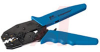 Crimp tool; 22 to 10 AWG; insulated ring tongue terminals & splices; blue handle -- 70225289 -- View Larger Image