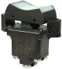 TP Series Rocker Switch, 2 pole, 3 position, Screw terminal, Flush Panel Mounting -- 2TP1-70 -Image