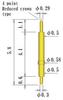 Double Ended Probe Pin -- 88YF58L58-AUTP -Image
