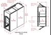 2-Unit Tunnel Standard Profile Single Door Air Showers -- CAP701KD-ST2-55144