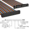 Rectangular Cable Assemblies -- A3AKB-5018M-ND -Image