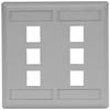 Datacommunication Face Plate -- IFP26GY - Image