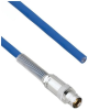 Halogen Free Cable Assembly TRB 3-Lug Cable Jack with Bend Relief to Blunt MIL-STD-1553 .242