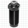 Threaded-Body Push Clamps w/Locking Support Plunger