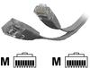 StarTech.com Flat Molded Cat 5e UTP Patch Cable -- FLAT45GR10