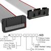 Rectangular Cable Assemblies -- A3BKB-2006G-ND -Image