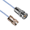 SUBMINIATURE THREADED SOLDER/CLAMP PLUG TO TRB 3-SLOT SOLDER/CLAMP PLUG M17/176-00002 .129 O.D. CABLE -- MP-2004-36 -Image