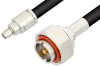 SMA Male to 7/16 DIN Male Cable 60 Inch Length Using RG8 Coax -- PE36157-60 -Image
