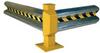 Galvanized Guard Rail: Galvanized Guard Rail - Curved Rails 90 degrees -- GR-10-CRV - Image