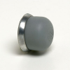 Threaded Gray Cap for Push-Button Switches -- 83280