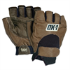 Half-Finger Lifter's Gloves - Small -- GLV1025S
