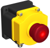 Emergency Stop & Stop Control Switch -- Flush-Mount Emergency Stop Button