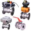 4000 Series Flanged Ball Valve -- C Model - Image