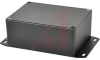 Enclosure; Diecast Aluminum Alloy; 1.57in.; 3.21 in.; Black; 0.08 in. -- 70164218