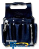 Ideal Black Tuff-Tote Tool Pouch with Shoulder Strap,.. -- 35-950BLK -- View Larger Image