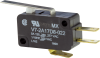 MICRO SWITCH V7 Series Miniature Basic Switch, Single Pole Double Throw Circuitry, 5 A at 250 Vac, Straight Lever Actuator, 0,40 N [1.5 oz] Maximum Operating Force, Silver Contacts, Quick Connect Term -- V7-2A17D8-022 -Image