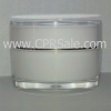 Acrylic Treatment Bottle, Clear Body, Square 30 mL -- CPR1305CSC-50-30 - Image