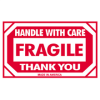"3in x 5in - ""Fragile - Handle With Care"" Labels -- SCL576"