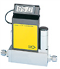 Compact Gas Mass Flow Controller, 0-50 sccm, N2/Air, Stainless Steel Body -- GO-32661-04