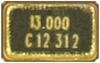 Oscillator Crystal -- 406C35B12M28800