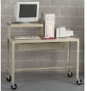 EDSAL Mobile Computer Workstation with Half Shelf -- 4788200