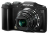 Olympus SZ-12 14mp Black 24x (25-600mm) Optical Zoom 3in LCD Digital Camera w/ 720p HD Video -- V102081BU000
