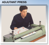 Large Label Mounting -- Adjutant Press