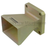 WR-90 Standard Waveguide Horn With Flange and 10 dB Typical Gain Operating From 8.2 GHz to 12.4 GHz Frequency Range -- SMW90AN001 -Image