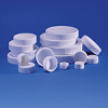 BOTTLE CAPS - Polypropylene, Screw Caps, with F217 Foamed Polyethylene Liner, LabBest, 13 - 425 -- 1143341 - Image